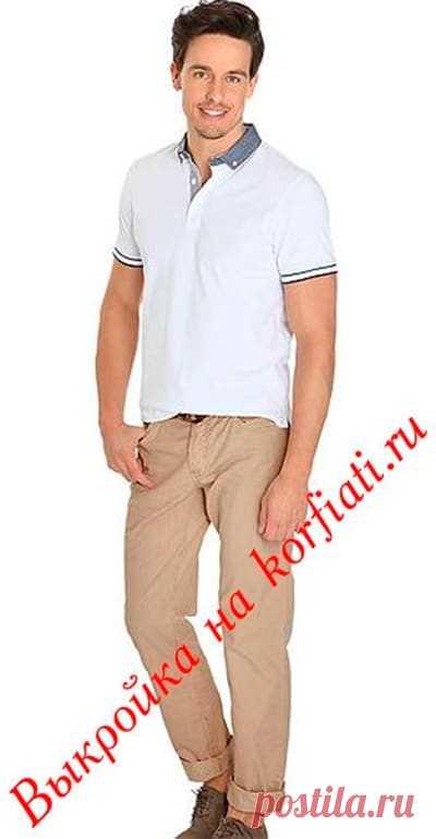 Выкройка мужских джинсов от Анастасии Корфиати Обязательно сшейте эти стильные мужские джинсы по нашей выкройке. Выкройка мужских джинсов моделируется достаточно просто. Тем более, что что ткань