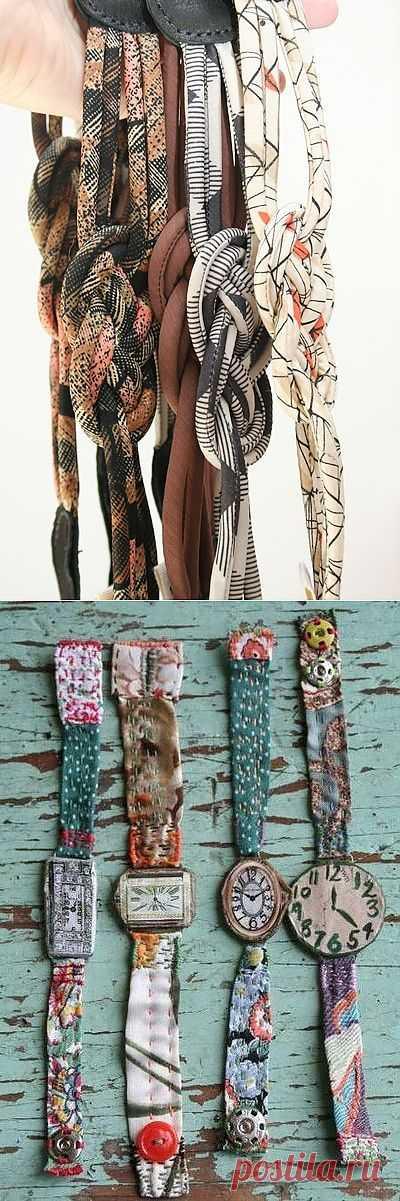 Летние текстильные аксессуары / Ремни / Модный сайт о стильной переделке одежды и интерьера