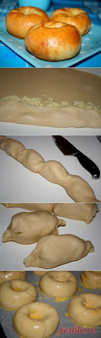 Кныш с картофелем. : Выпечка несладкая