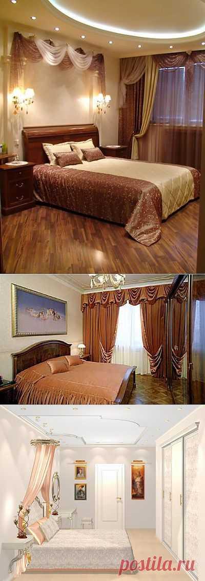 Интерьер спальни.