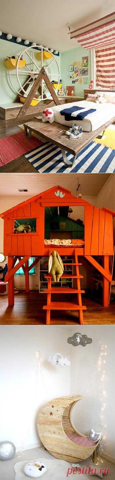 Сумасшедшие идеи для детских комнат. Для родителей-фантазеров.