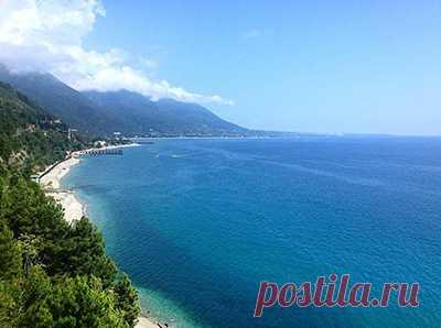 Популярные пляжи Абхазии - Сайт для женщин