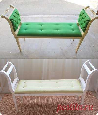 Вторая жизнь старых стульев