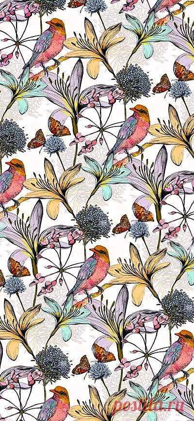 Charlotte_Duffy_Eastern_Flutter , ... | Textiles & Textures