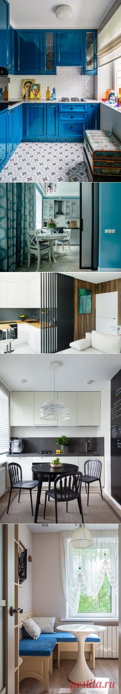 Дизайн кухни 7 кв метров, интерьер маленькой кухни