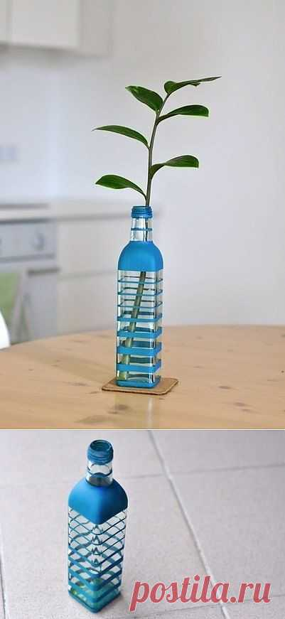 Декор вазы для цветов (Diy) / Цветы / Модный сайт о стильной переделке одежды и интерьера