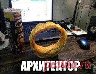 Колесо из чипсов