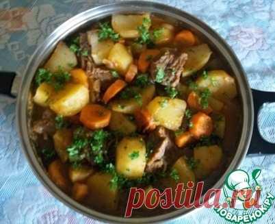 Тушеный картофель по-камерунски Кулинарный рецепт