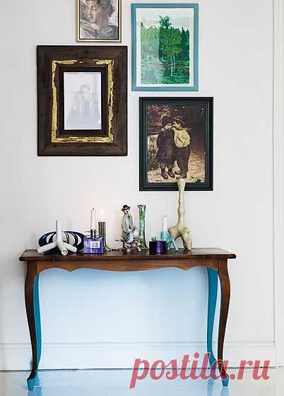 Неожиданная деталь в классической мебели / Мебель / Модный сайт о стильной переделке одежды и интерьера