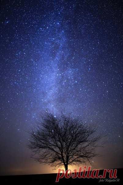 «Звездный туман» в объективе Александра Калякина: nat-geo.ru/community/user/186396 Спокойной ночи.