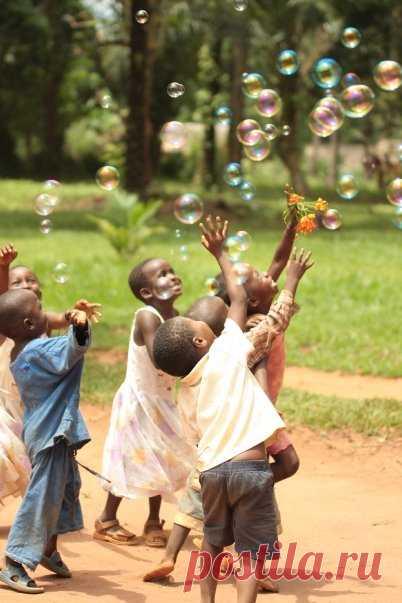 Дарить детям радость иногда совсем просто