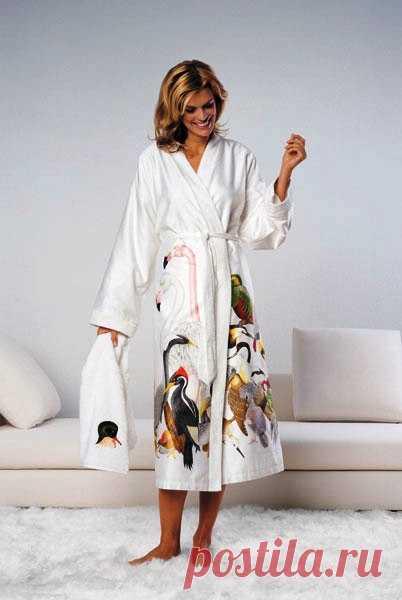 Шьем домашний халат