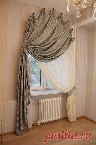 Идея для оформления штор