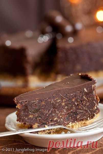 Шоколадная маркиза .