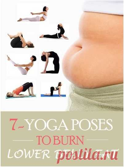 (127) Top 7 Yoga Poses To Burn Lower Belly Fat.   Yoga & general balance in my body