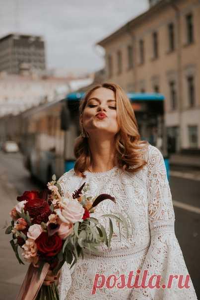 В ритме большого города: свадьба для двоих 💫