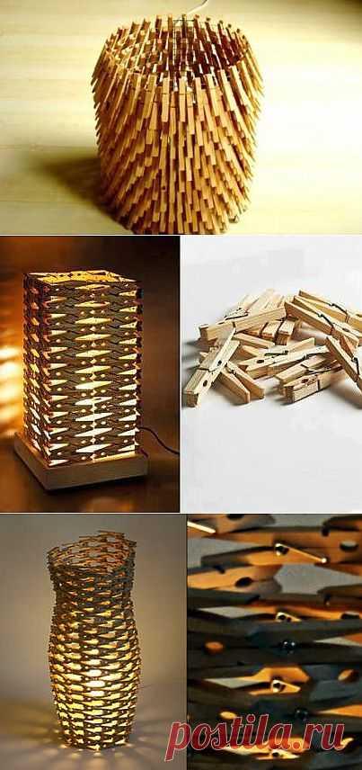 Деревянные светильники своими руками | МАСТЕРА