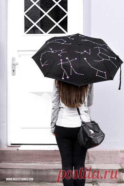 Украшаем зонтик — Сделай сам, идеи для творчества - DIY Ideas