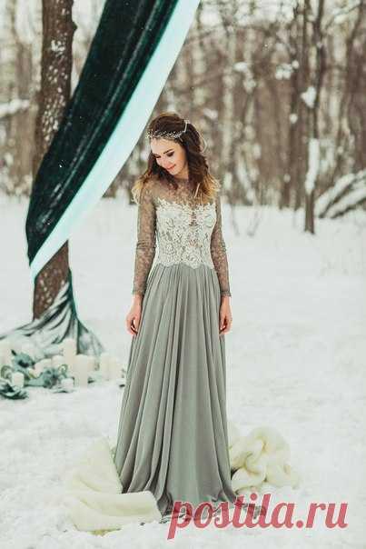 Образы зимних невест как из сказки! Продолжение серий смотрите по ссылке в описании к фото.