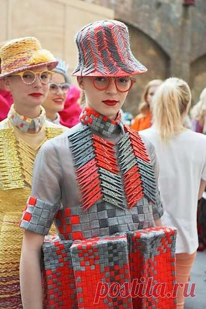 Прищепки и вышитые шляпы / Креатив в моде / Модный сайт о стильной переделке одежды и интерьера
