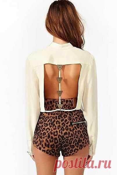 Еще одна спинка / Декор спины / Модный сайт о стильной переделке одежды и интерьера