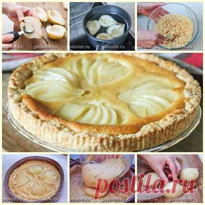 Пирог с грушами Bourdaloue