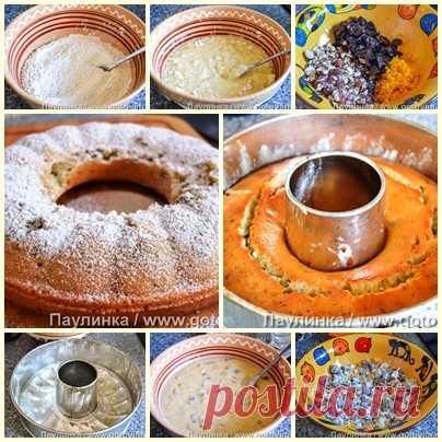 Постный пирог по мотивам греческой фануропиты