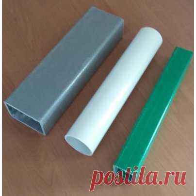 Труба прямоугольная 88х58х5   Купить профили композитные стеклопластиковые в Минске, цена