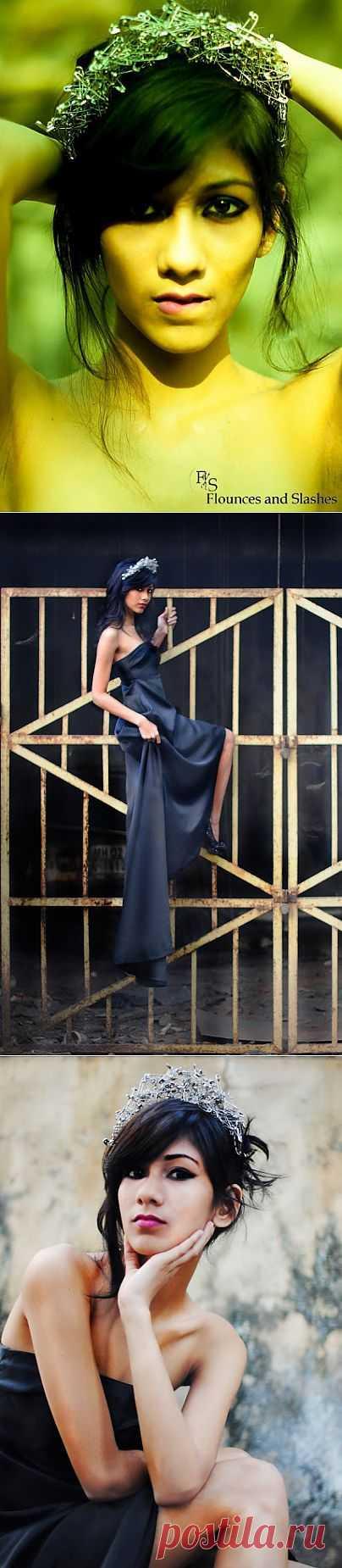 Панк-корона / Украшения для волос / Модный сайт о стильной переделке одежды и интерьера