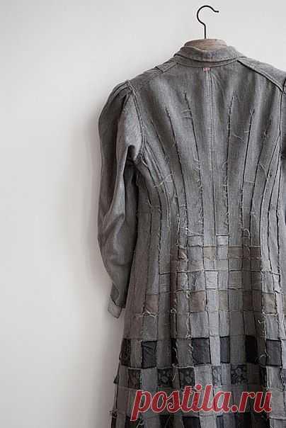 Пальто - пэчворк Manon Gignoux / Пэчворк / ВТОРАЯ УЛИЦА
