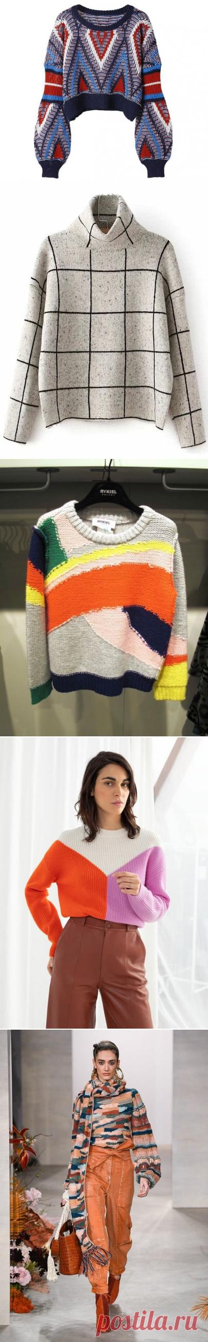 Свитер осень-зима 2020: трендовые модели, фасоны и цвета | Fashion girls | Яндекс Дзен