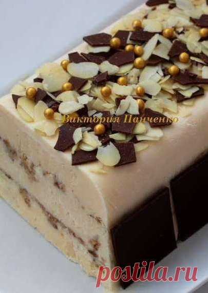 Семифреддо амаретто (десерт для взрослых)