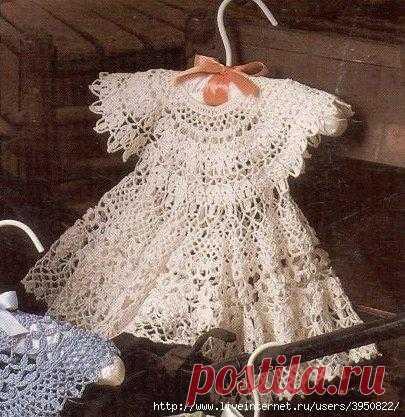 Платье для маленькой девочки.