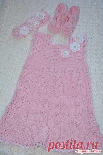 Летнее платье для девочки - Вязание - Страна Мам