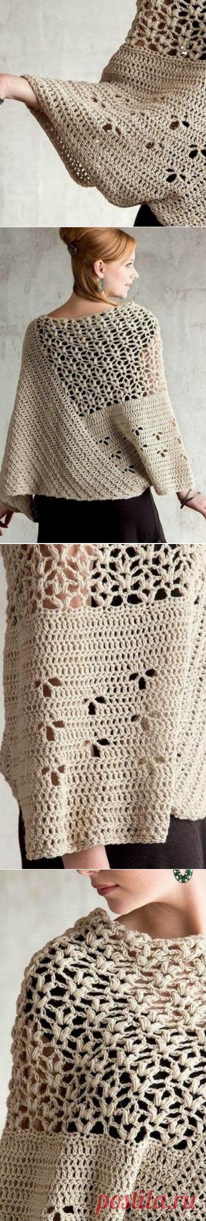 Вязание стильного пуловера