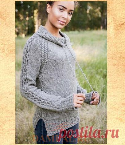 Женский пуловер «Harley» | DAMские PALьчики. ru