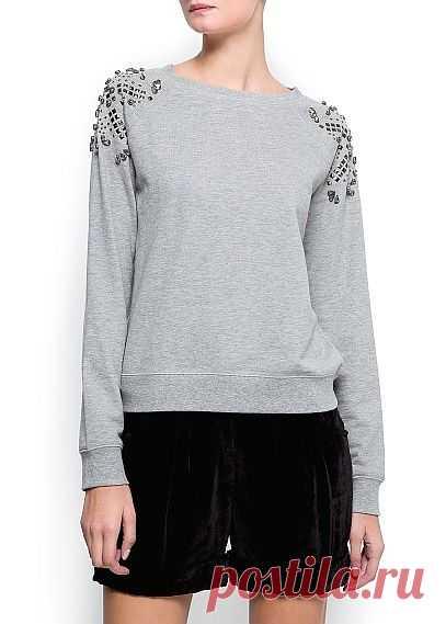Кофта MANGO / Худи / Модный сайт о стильной переделке одежды и интерьера