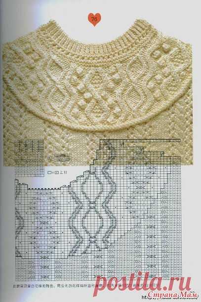 Узоры в коллекцию - Вязание спицами - Страна Мам