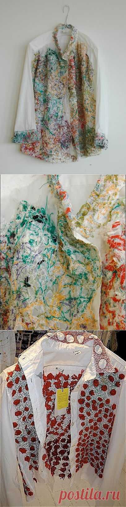Иные возможности (трафик) / Вышивка / Модный сайт о стильной переделке одежды и интерьера