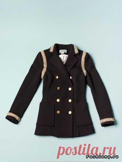 Украшаем пальто