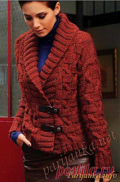Короткая куртка (ж) 592 Creations 12/13 Bergere de France №2979