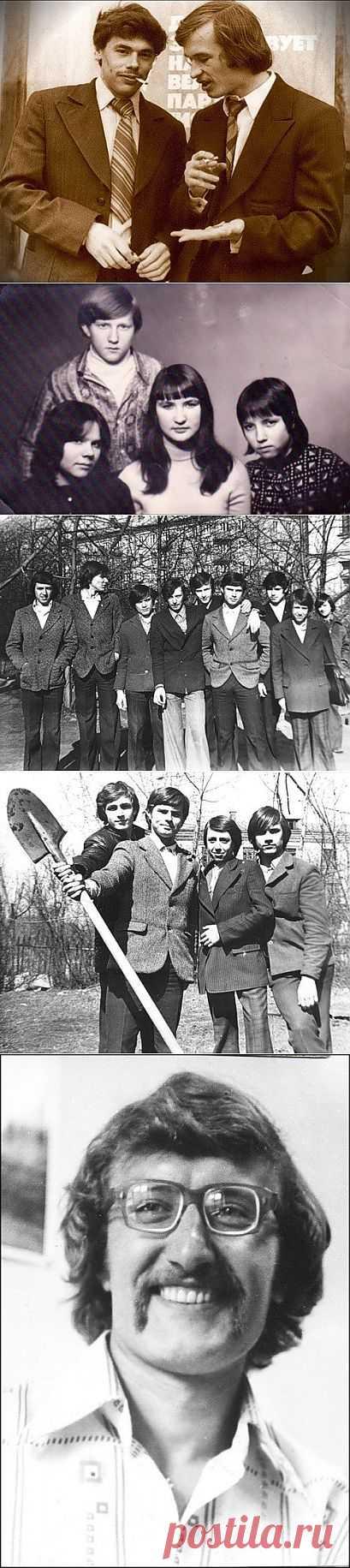 Прически 70-х / Обратно в СССР
