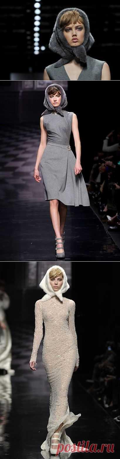 Косынки из меха от Ermanno Scervino (подборка) / Головные уборы / Модный сайт о стильной переделке одежды и интерьера