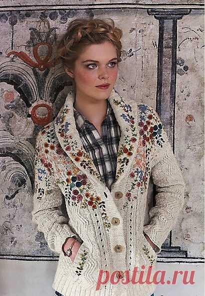 Вышитый свитер / Свитер / Модный сайт о стильной переделке одежды и интерьера