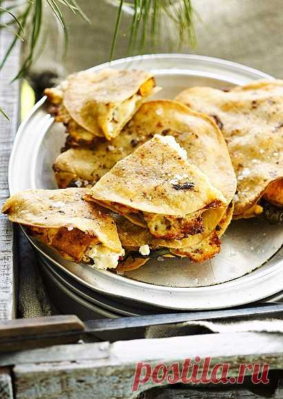 Вегетарианские лепешки с тыквой и чили (для получения рецепта нажмите на картинку)