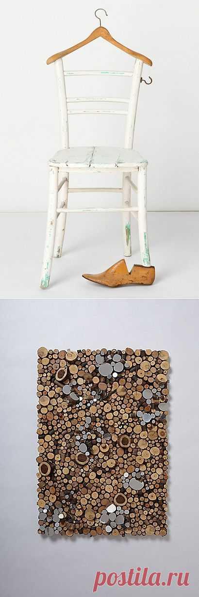 Безумный дровосек / Арт-объекты / Модный сайт о стильной переделке одежды и интерьера