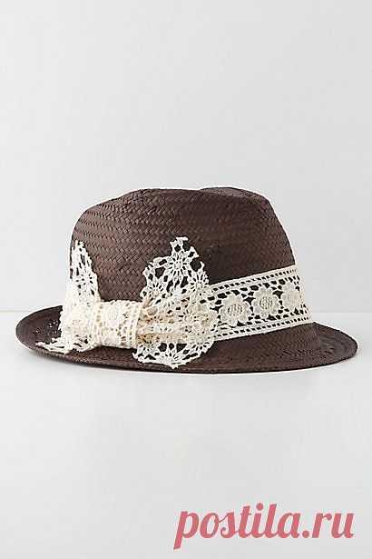 Шляпа Anthropologie / Головные уборы / Модный сайт о стильной переделке одежды и интерьера