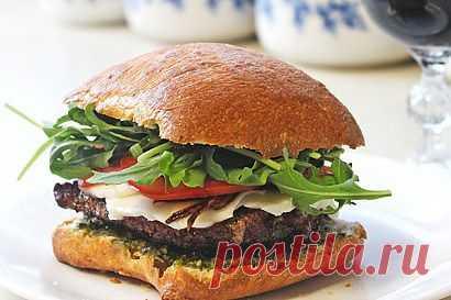 InVkus: Бургер с соусом Чимичурри. Вредный, вкусный...