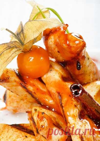 Hortalizas, frito con la canela - es sabroso y es insólito (para la recepción de la receta presionen 2 veces la estampa)