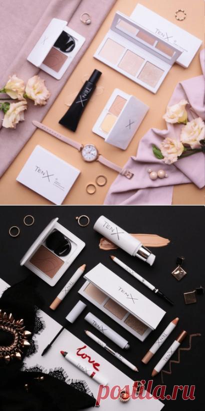 Кейсы TenX - наборы для идеального макияжа от NL Int | nlstars
